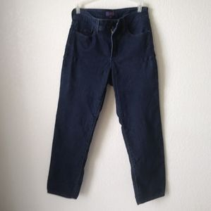 NYDJ Blue Jeans 6P Ankle Stretch